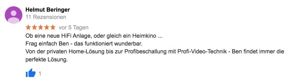 Frag einfach Ben - Referenz Helmut